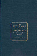 The Italians of Dalmatia