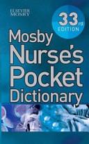 Mosby Nurse s Pocket Dictionary