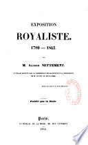 Exposition royaliste