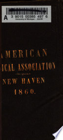 A Manual for the Meeting in New Haven, June 5, 1860