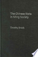 The Chinese State in Ming Society