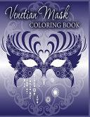 Venetian Mask Coloring Book