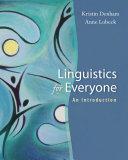 download ebook linguistics for everyone: an introduction pdf epub