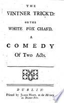 The Vintner Trick d  Or the White Fox Chas d Book PDF