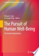 The Pursuit of Human Well Being