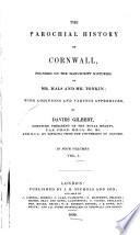 The Parochial History of Cornwall