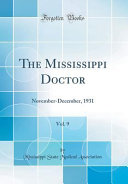 The Mississippi Doctor  Vol  9