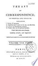 L art de la correspondance en fran  ais et en anglais