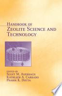 Handbook of Zeolite Science and Technology