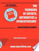Yearbook of Experts, Authorities & Spokespersons - 2011 Editon