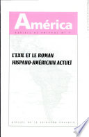 illustration L'exil et le roman hispano-américain actuel