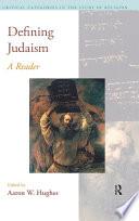 Defining Judaism
