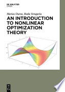 An Introduction To Nonlinear Optimization Theory book