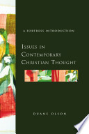 Issues In Contemporary Christian Thought : christian responses to the enlightenment. he discusses...
