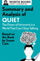 download ebook summary and analysis of quiet: the power of introverts in a world that can't stop talking pdf epub