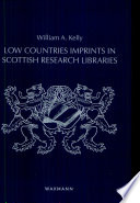 Low Countries imprints in Scottish research libraries