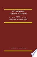 Handbook of Tableau Methods