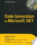 Code Generation In Microsoft Net
