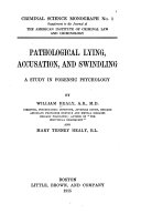 Pathological Lying Accusation And Swindling