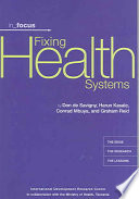 Fixing Health Systems