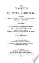 The Companion to St  Paul s Cathedral Book PDF