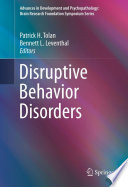 Disruptive Behavior Disorders