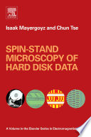 Spin stand Microscopy of Hard Disk Data
