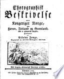 Chorographisk beskrivelse over Kongeriget Norge