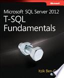Microsoft Sql Server 2012 T Sql Fundamentals
