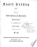Dansk ordbog udgiven under Videnskabernes Selskabs Bestyrelse