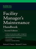 Facility Manager s Maintenance Handbook