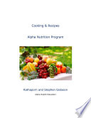 Alpha Nutrition Cooking book