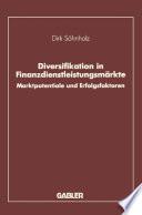 Diversifikation in Finanzdienstleistungsmärkte