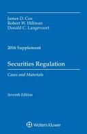 Securities Regulation 2016 Case Supplement