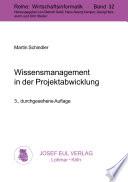 Wissensmanagement in der Projektabwicklung