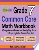 Grade 7 Common Core Mathematics Workbook 2018 2019