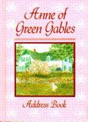 Anne Of Green Gables Address Book