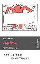 Moleskine Limited Edition Keith Haring  Notebook  Large  Plain  White