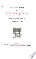 Selected Poems of Robert Burns
