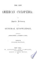 The New American Cyclopaedia : ...