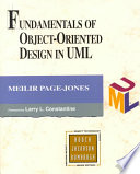 Fundamentals of Object oriented Design in UML