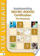 Implementing ISO IEC 20000 Certification  The Roadmap