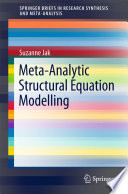 Meta Analytic Structural Equation Modelling