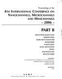 Proceedings of the 4th International Conference on Nanochannels  Microchannels and Minichannels   2006