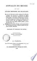 Paysages et tableaux de genre du Musée Napoléon