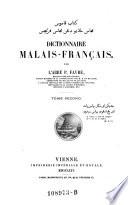 Dictionnaire Malais   Francais