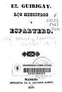 download ebook el guirigay, los ministros y espartero pdf epub