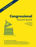 Congressional Yellow Book - Summer 2013