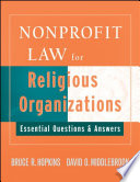 Nonprofit Law for Religious Organizations