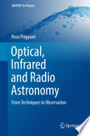 Optical  Infrared and Radio Astronomy